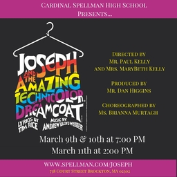 Spring Musical: Joseph and the Amazing Technicolor Dreamcoat