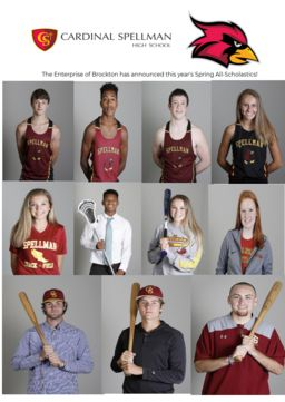 Spring All-Scholastic Athletes